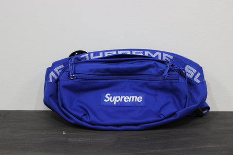 Supreme S/S 18 Waist Bag Royal