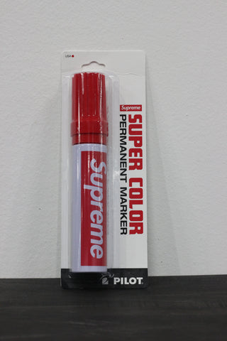 Supreme Pilot Marker Red