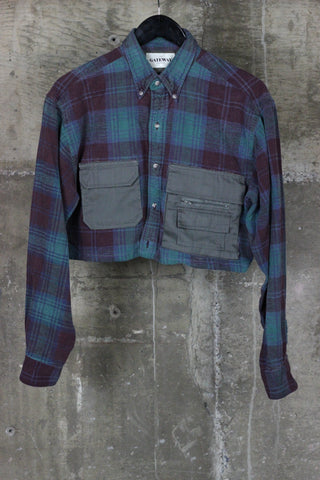 The Gateway District Reworked Flannel Purple