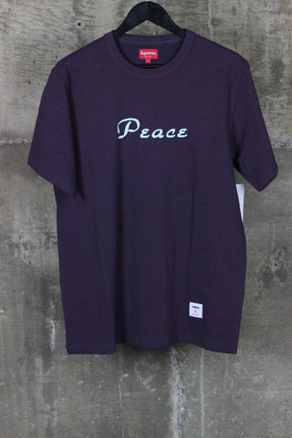 Supreme Peace Tee Plum