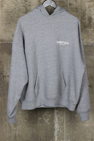 Fear Of God Essentials Hooded Sweatshirt Grey