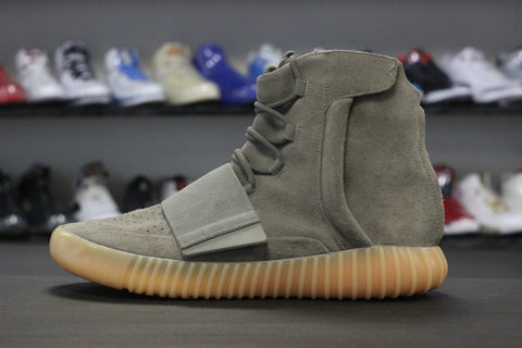 Adidas Yeezy 750 Boost Light Grey / Glow