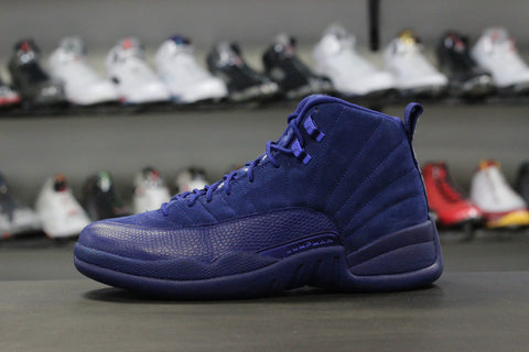Air Jordan 12 Blue Suede