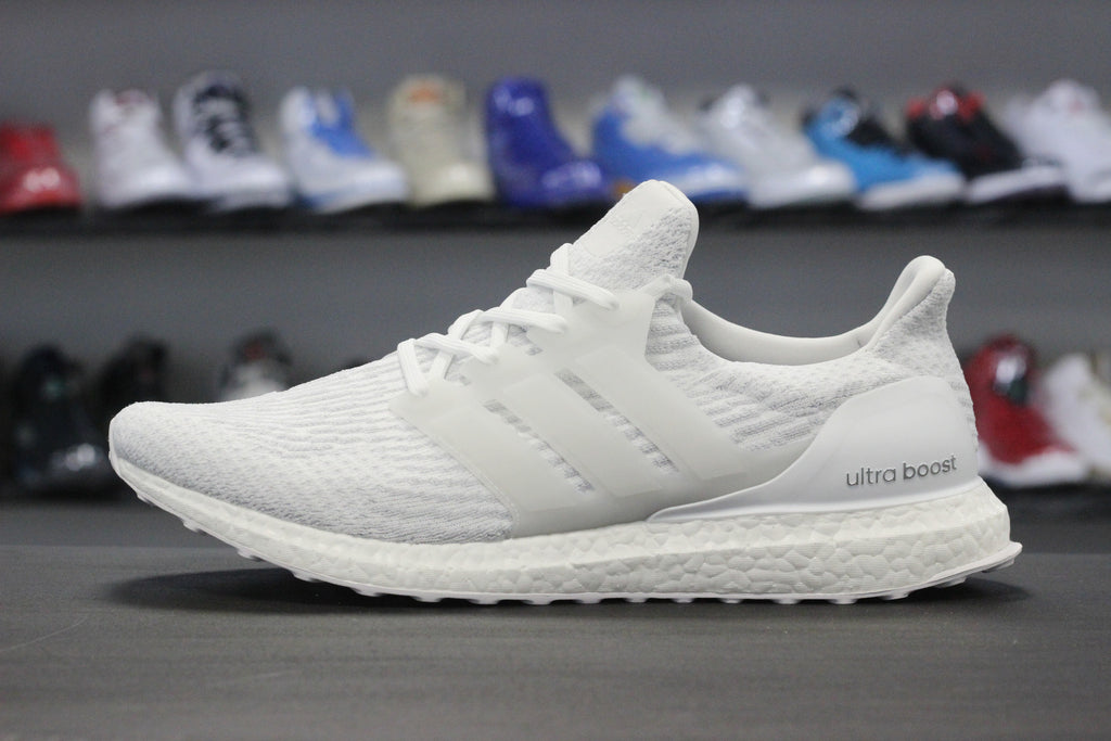 adidas ultra boost 3 0 triple white the restock. Black Bedroom Furniture Sets. Home Design Ideas