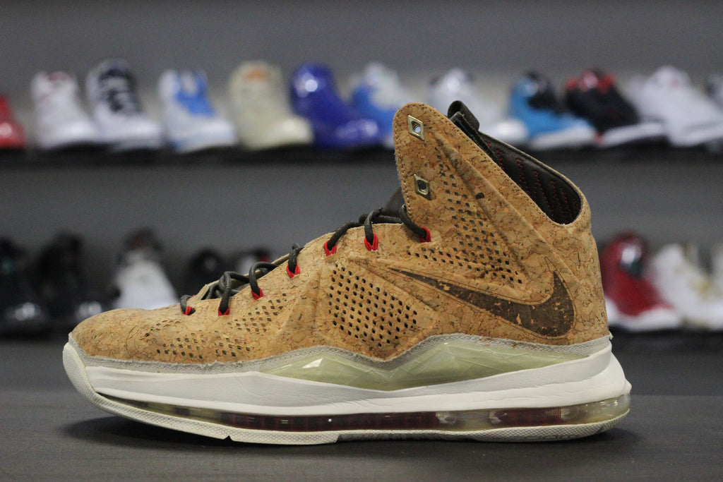 outlet store 85e63 ed594 Nike LeBron X EXT Cork – The Restock
