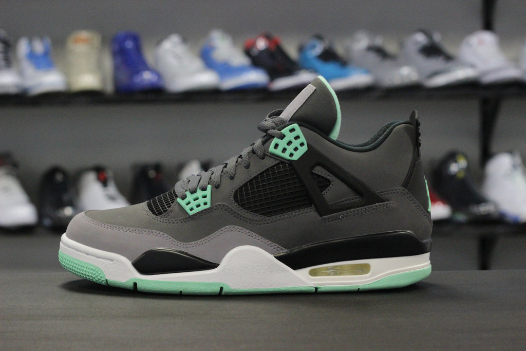 da299309611f Air Jordan 4 Green Glow – The Restock