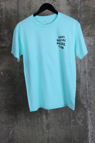 Anti Social Social Club Logo Tee Teal