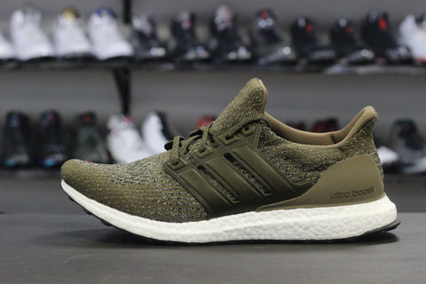 Adidas Ultra Boost 3.0 Olive Leather