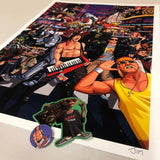 Signed Limited Edition- Ultimate 80s A2 Art Print