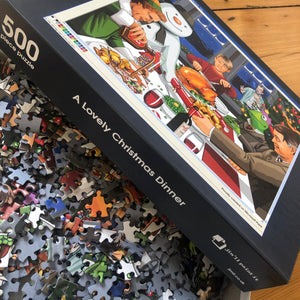 A Lovely Christmas Dinner 500 Piece Jigsaw Puzzle