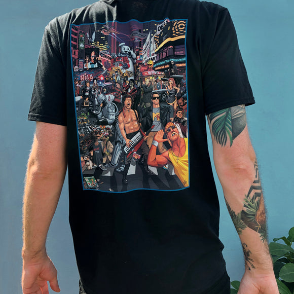 Limited Edition - Ultimate 80s Back Print T-Shirt