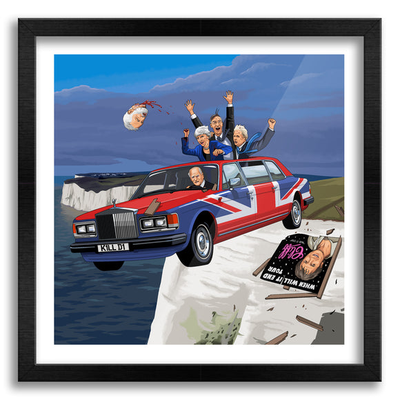 Brexit Commemorative Art Print