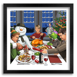 A Lovely Christmas Dinner Art Print