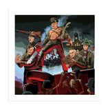 Dad's Army of Darkness Art Print