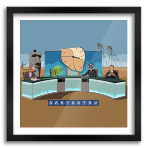 Dali's Surrealist Countdown Art Print