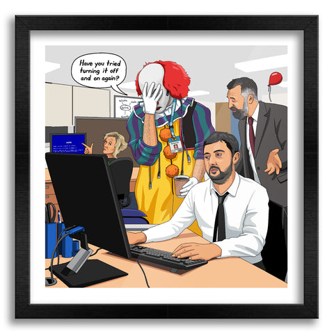 IT Guy Art Print