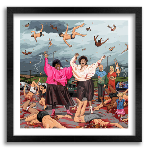 It's Literally Raining Men Art Print