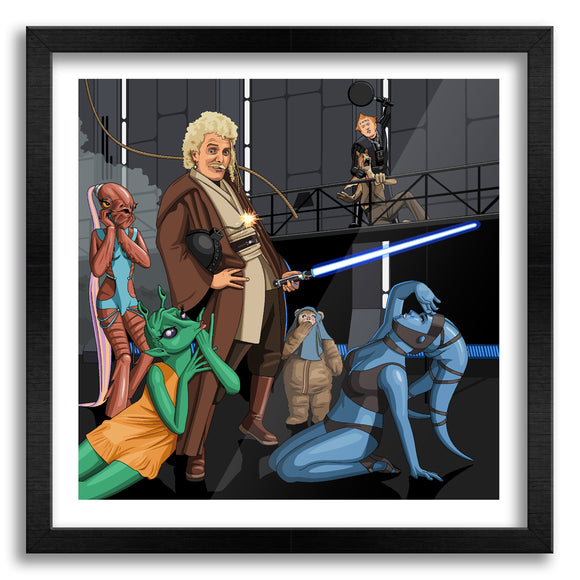 Jedi Flashheart Art Print