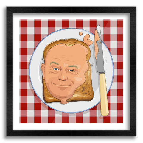Ross Kemp On Toast Art Print