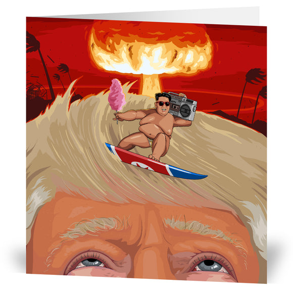 Rocketman Kim Greeting Card