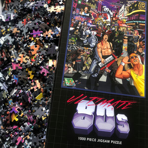 Pre-order: Ultimate 80s 1000 Piece Jigsaw Puzzle