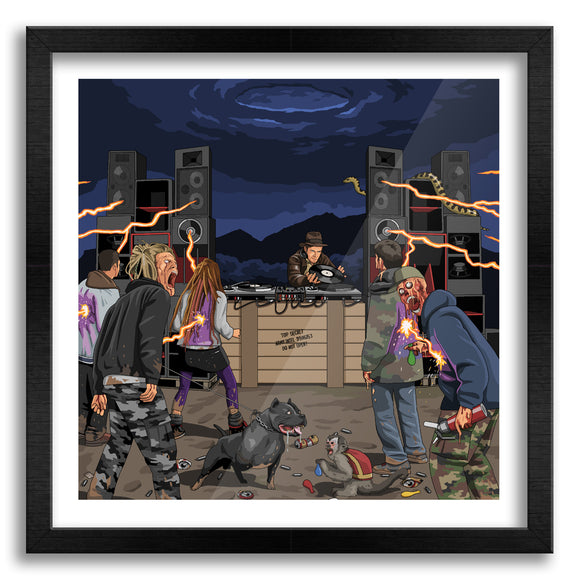 Ravers of the Lost Ark Art Print