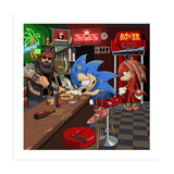 Washed Up Sonic Art Print