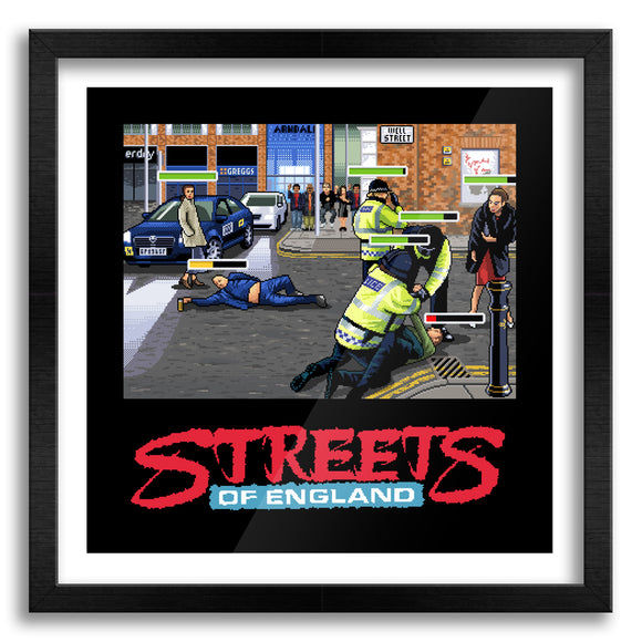 Streets of England Art Print