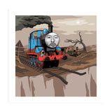 Thom Yorke The Tank Engine Art Print