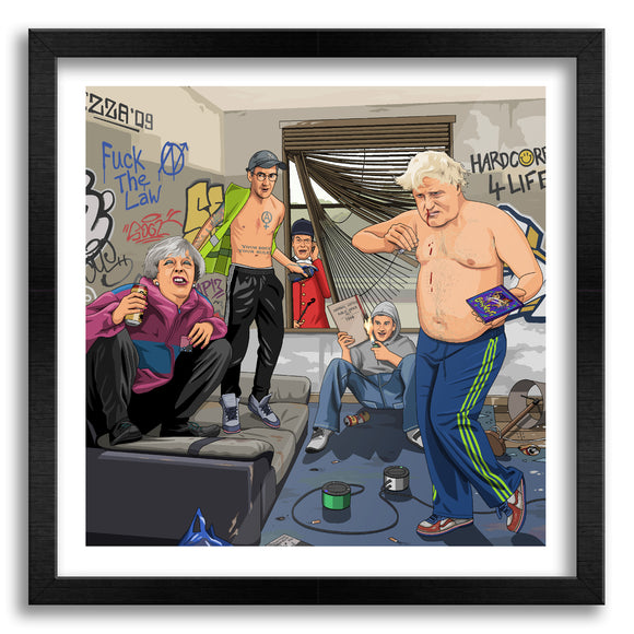 Tory Squat Party Art Print