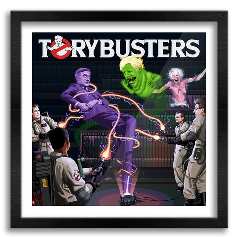 Torybusters Art Print