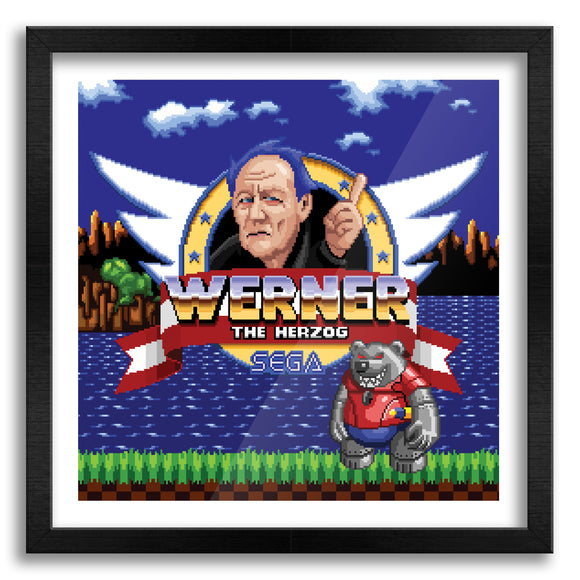 Werner The Herzog Art Print