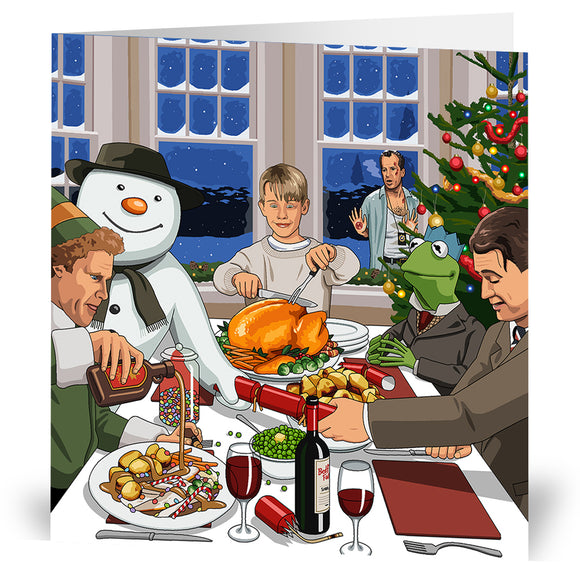 A Lovely Christmas Dinner Christmas Card