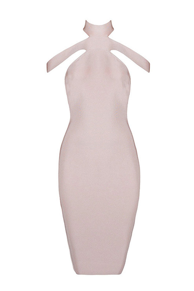 Sexy Off The Shoulder Halter Party Dress Various Colours - iulover