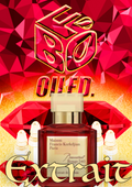 Compare Aroma to Baccarat Rouge 540 Extrait®