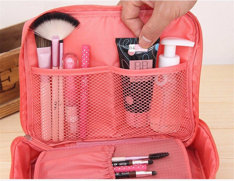 Ladies Travel Toiletry Makeup Case or Cosmetic Bag Organizer  Travel Gear