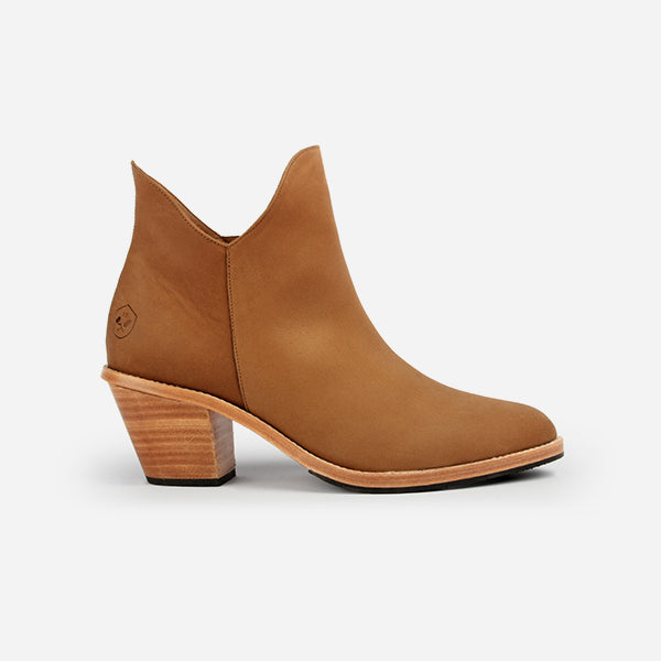Poppy Barley | The Two Point Five Ankle Boot | Desert Tan | Sizes 6 to 10 and narrow, standard and wide