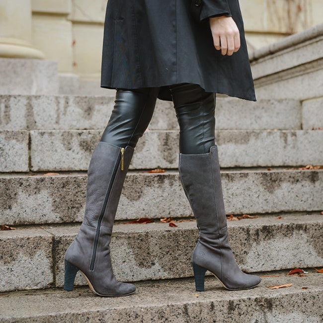 The Highline Boot - Poppy Barley - Made-to-order boots for wide calfs to narrow calfs - PoppyBarley.com
