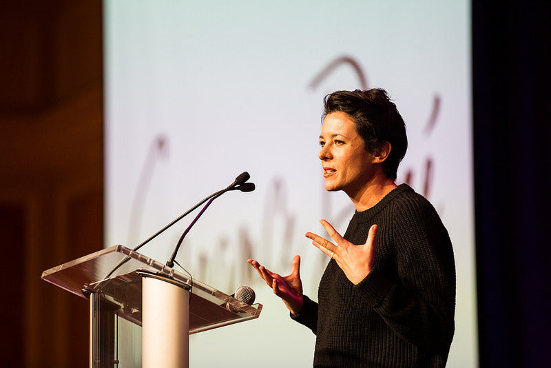 Garance Dore at Alt Summit 2014. Poppy Barley offers made to measure custom shoes, sizes 5-12 and widths standard, narrow and wide
