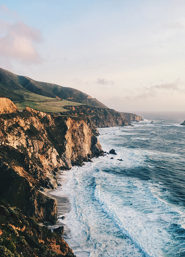 Big Sur, California - How to Work Remotely - Poppy Barley
