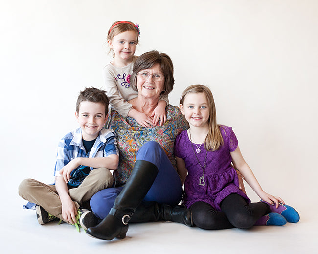 How has your relationship with your daughter changed since she had children of her own? Cathy, grandmother to five and a Poppy Barley boots owner, answers our Mother's Day poll.