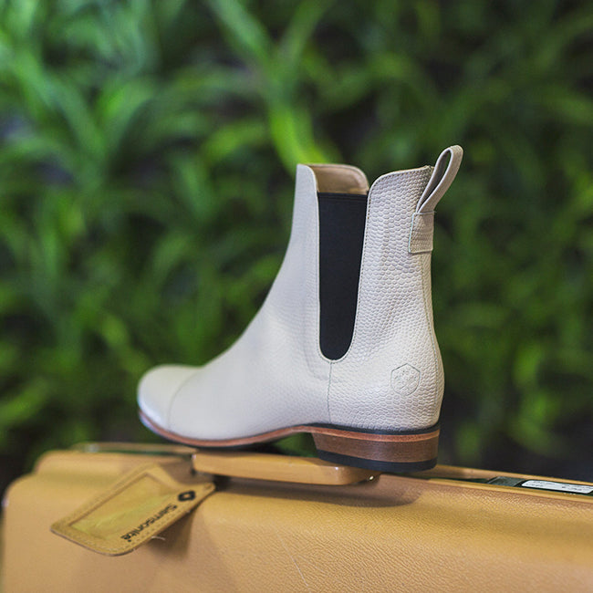 Poppy Barley Stylist Notes: The Chelsea Boot in Ivory Snake | Photo by Nicole Ashley