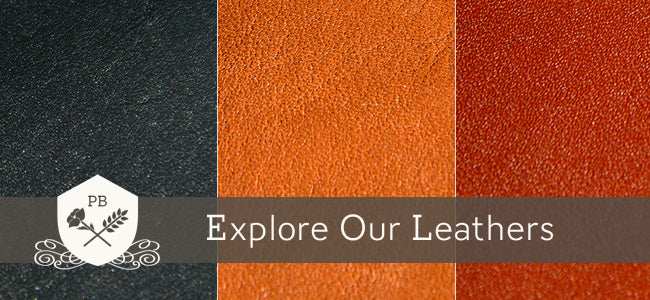Explore our Leathers