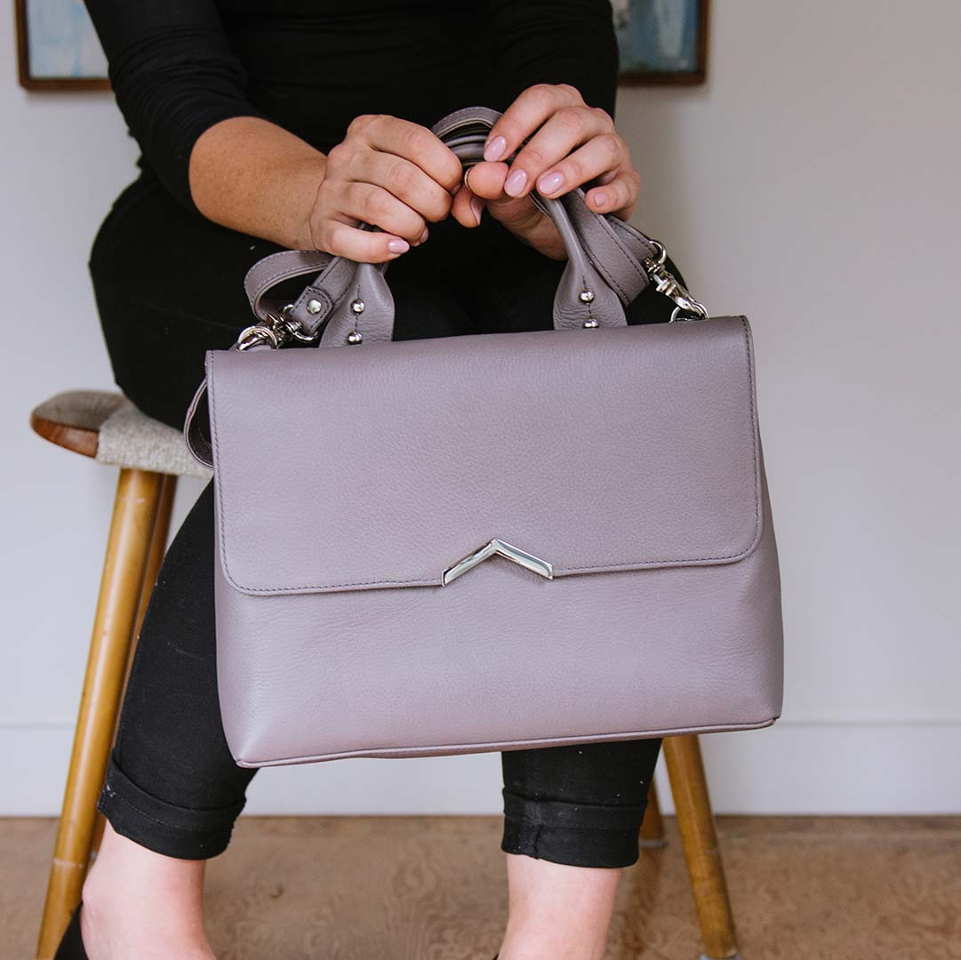 Fall Accessories Lineup - Shoulder Satchel - Poppy Barley