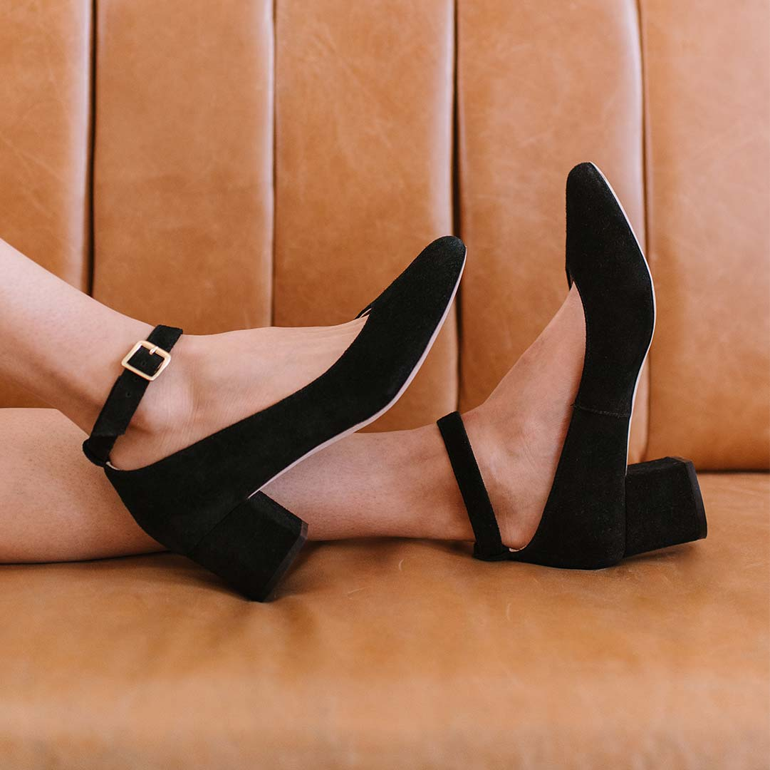 The Heels Collection - The Rosemont Mary Jane - Poppy Barley
