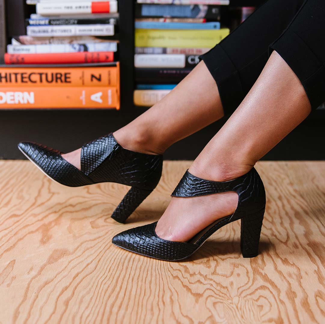 The Heels Collection - The Meghan Cutout- Poppy Barley