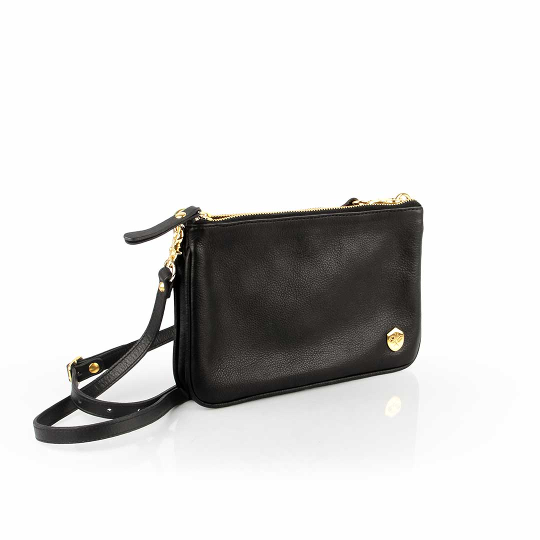 The Essentials Purse Black - Poppy Barley