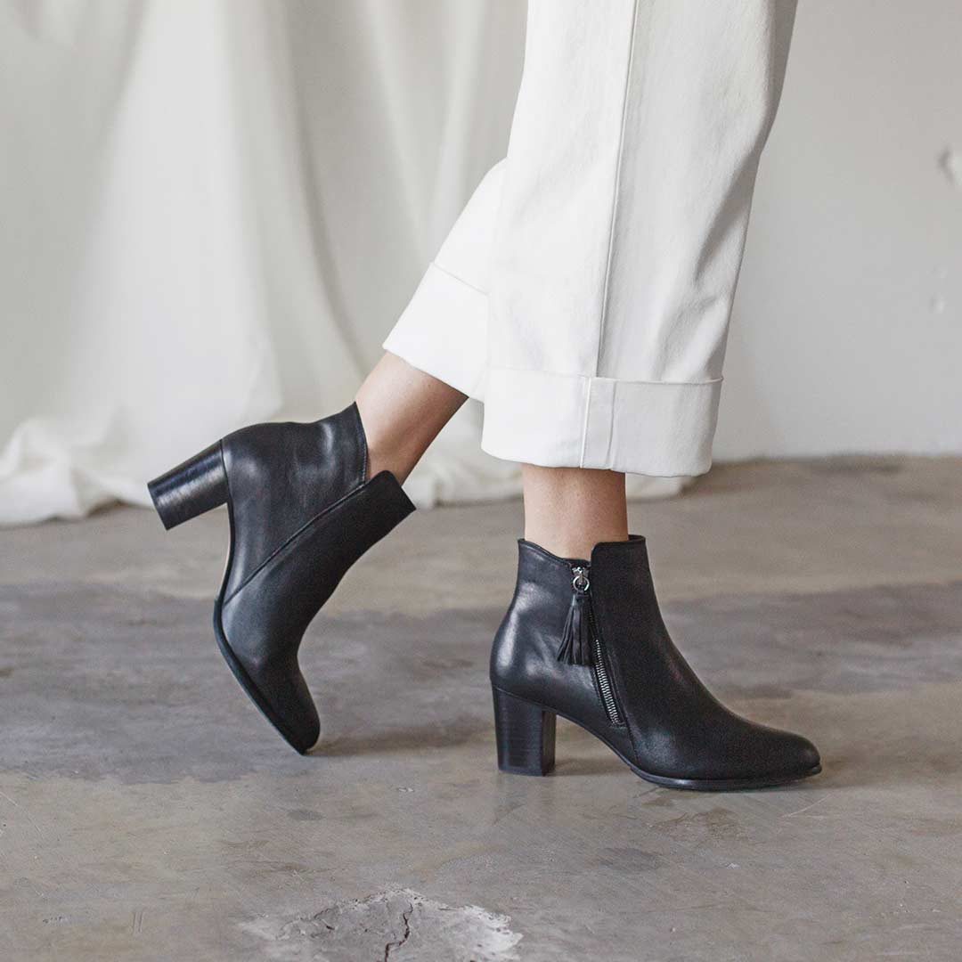 Spring 2019 - The Tassel Bootie - Poppy Barley
