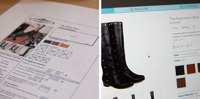 How to create a startup website: Poppy Barley 101. Poppy Barley is an ecommerce reatiler offering custom made shoes and boots for men and women. We offer sizes 5-12 and are able to fit wide and narrow feet, as well as provide calf-fitting boots.