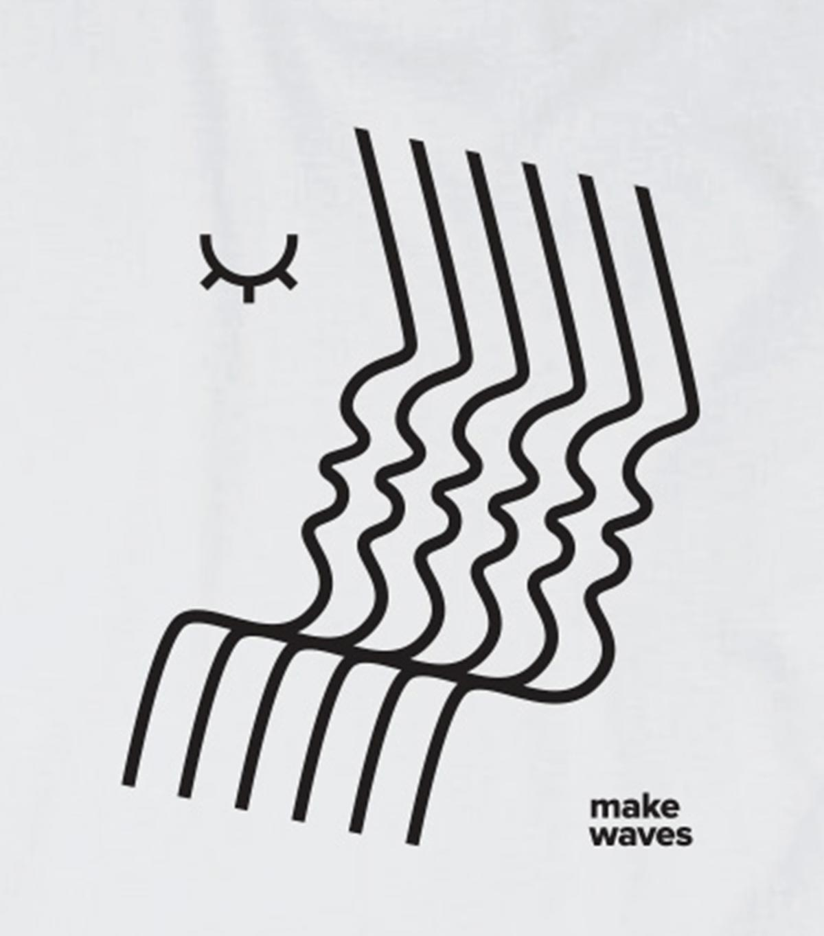 DirectHer Make Waves T-Shirt